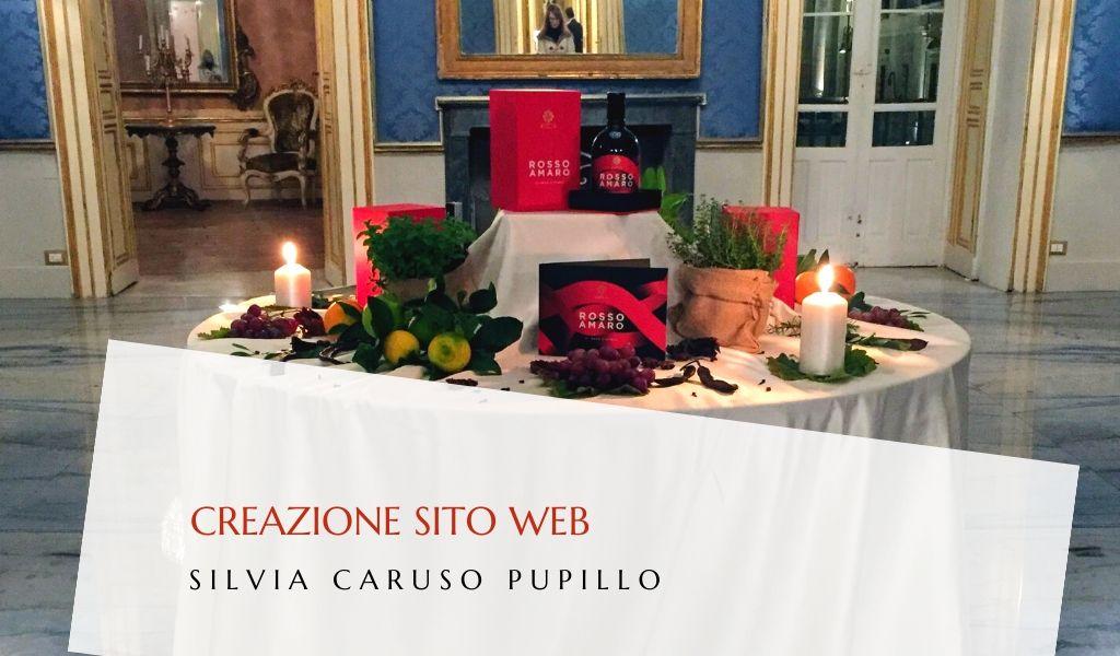 Creazione sito web raccontare Rosso Amaro - dsmarketing